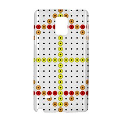 Vertical Horizontal Samsung Galaxy Note 4 Hardshell Case by AnjaniArt