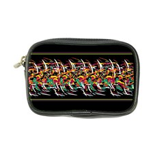 Colorful Barbwire  Coin Purse by Valentinaart