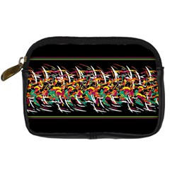 Colorful Barbwire  Digital Camera Cases by Valentinaart