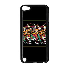 Colorful Barbwire  Apple Ipod Touch 5 Case (black) by Valentinaart