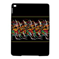 Colorful Barbwire  Ipad Air 2 Hardshell Cases by Valentinaart