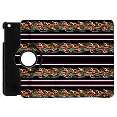 Colorful Barbwire Apple Ipad Mini Flip 360 Case by Valentinaart