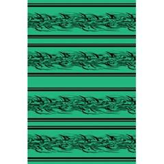 Green Barbwire 5 5  X 8 5  Notebooks by Valentinaart