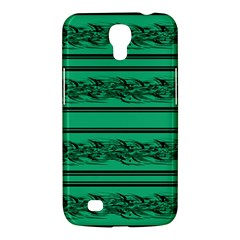 Green Barbwire Samsung Galaxy Mega 6 3  I9200 Hardshell Case by Valentinaart