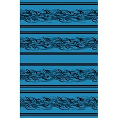 Blue Barbwire 5 5  X 8 5  Notebooks by Valentinaart