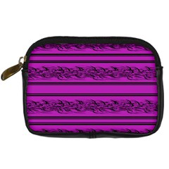 Magenta Barbwire Digital Camera Cases by Valentinaart