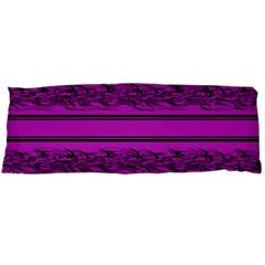 Magenta Barbwire Body Pillow Case (dakimakura) by Valentinaart