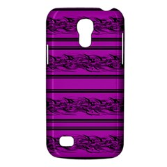Magenta Barbwire Galaxy S4 Mini by Valentinaart