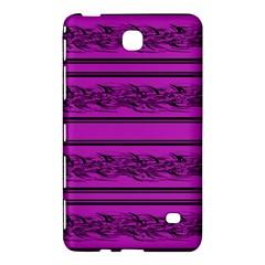 Magenta Barbwire Samsung Galaxy Tab 4 (8 ) Hardshell Case  by Valentinaart