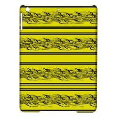 Yellow Barbwire Ipad Air Hardshell Cases by Valentinaart