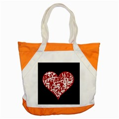 Valentine s Day Design Accent Tote Bag by Valentinaart
