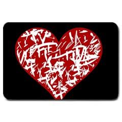 Valentine s Day Design Large Doormat