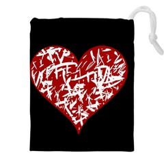 Valentine s Day Design Drawstring Pouches (xxl)