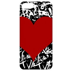 Red Valentine Apple Iphone 5 Classic Hardshell Case by Valentinaart