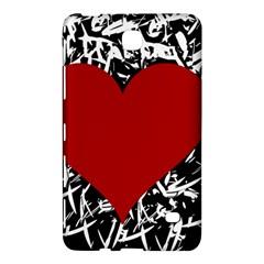 Red Valentine Samsung Galaxy Tab 4 (8 ) Hardshell Case  by Valentinaart