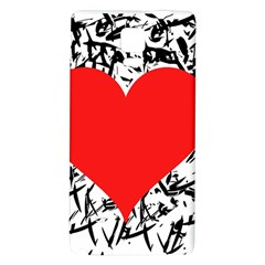 Red Valentine 2 Galaxy Note 4 Back Case by Valentinaart