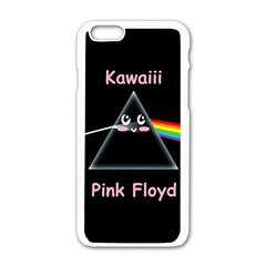 Cute Pink Floyd  Apple Iphone 6/6s White Enamel Case by Brittlevirginclothing
