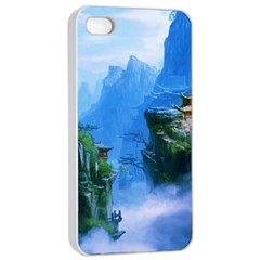 Fantasy Nature  Apple Iphone 4/4s Seamless Case (white) by Brittlevirginclothing