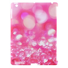 Cute Pink Glamour Diamonds Apple Ipad 3/4 Hardshell Case (compatible With Smart Cover) by Brittlevirginclothing