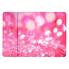 Cute Pink Glamour Diamonds Samsung Galaxy Tab 10 1  P7500 Flip Case by Brittlevirginclothing