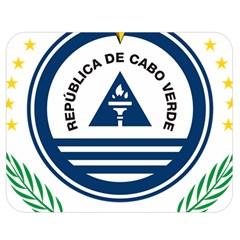 National Emblem Of Cape Verde Double Sided Flano Blanket (medium)  by abbeyz71