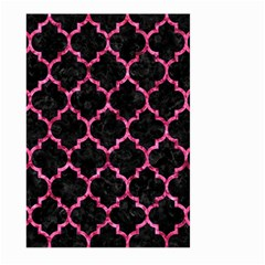 Tile1 Black Marble & Pink Marble Large Garden Flag (two Sides) by trendistuff
