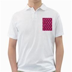 TIL1 BK-PK MARBLE (R) Golf Shirts by trendistuff
