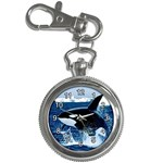LEAPING KILLER WHALE KEY CHAIN WATCH