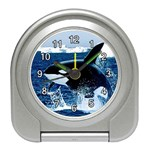 LEAPING KILLER WHALE ALARM CLOCK (BLACK)