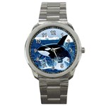 Emerging_ Killer Whale Sport Metal Watch