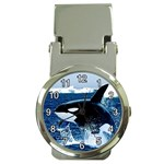 Emerging_ Killer Whale Money Clip Watch