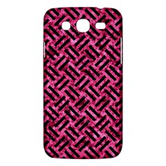 Woven2 Black Marble & Pink Marble (r) Samsung Galaxy Mega 5 8 I9152 Hardshell Case  by trendistuff