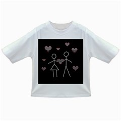Couple In Love Infant/toddler T Shirts by Valentinaart