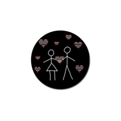 Couple In Love Golf Ball Marker (10 Pack) by Valentinaart
