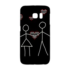 Couple In Love Galaxy S6 Edge by Valentinaart