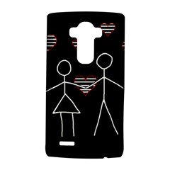 Couple In Love Lg G4 Hardshell Case by Valentinaart