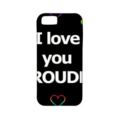 Proudly Love Apple Iphone 5 Classic Hardshell Case (pc+silicone) by Valentinaart