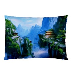 Fantasy Nature Pillow Case (two Sides) by Brittlevirginclothing