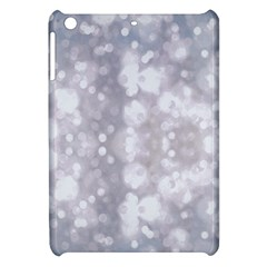 Light Circles, Rouge Aquarel Painting Apple Ipad Mini Hardshell Case by picsaspassion
