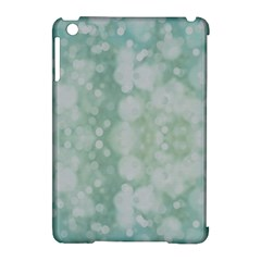 Light Circles, Mint Green Color Apple Ipad Mini Hardshell Case (compatible With Smart Cover) by picsaspassion