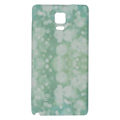 Light Circles, Mint Green Color Galaxy Note 4 Back Case by picsaspassion
