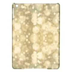 Light Circles, Brown Yellow Color Ipad Air Hardshell Cases by picsaspassion