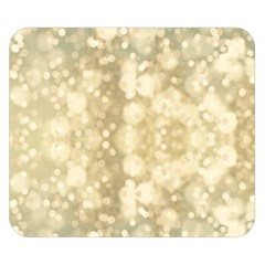 Light Circles, Brown Yellow Color Double Sided Flano Blanket (small)  by picsaspassion