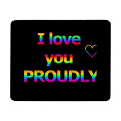 I Love You Proudly Samsung Galaxy Tab Pro 8 4  Flip Case by Valentinaart