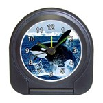 Emerging_ Killer Whale Travel Alarm Clock