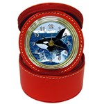 Emerging_ Killer Whale Jewelry Case Clock