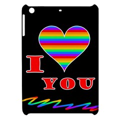 I Love You Apple Ipad Mini Hardshell Case by Valentinaart