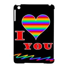 I Love You Apple Ipad Mini Hardshell Case (compatible With Smart Cover) by Valentinaart