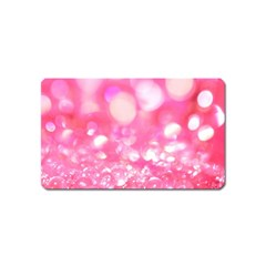 Pink Diamond  Magnet (name Card) by Brittlevirginclothing