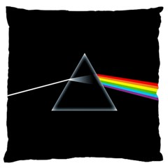 Pink Floyd  Large Flano Cushion Case (one Side) by Brittlevirginclothing